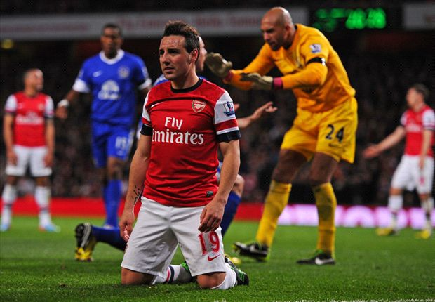 Arsenal 0-0 Everton: Wasteful Gunners miss chance to pull clear in race for top four