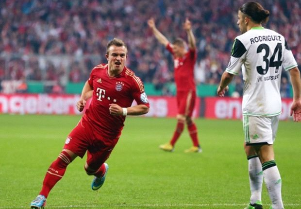 Bayern Munich 6-1 Wolfsburg: Treble still on for rampant Bavarians