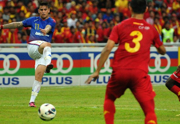 Nunez netted eight times in his eight months with JDT.