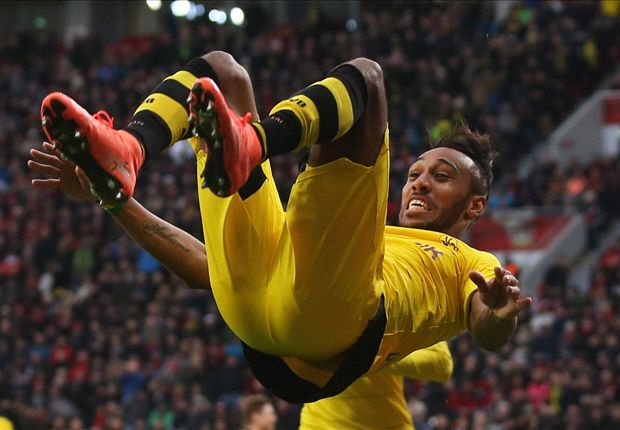 Aubameyang almost joined Newcastle before opting for Dortmund