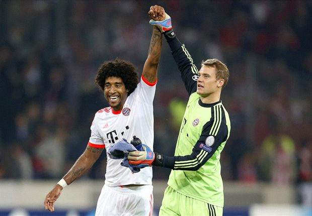 Dante says that Robert Lewandowski is the world's best striker