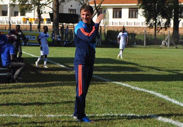 Uganda coach Milutin Sredejovic.