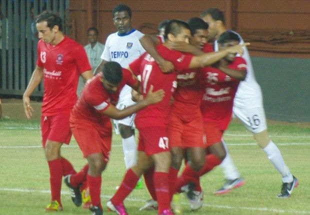 Churchill Brothers SC 2-2 Dempo SC: Free-kick specialist Chhetri helps home side to a share of the spoils