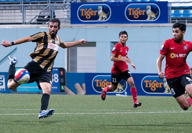 Jaguars maul Young Lions to take second spot