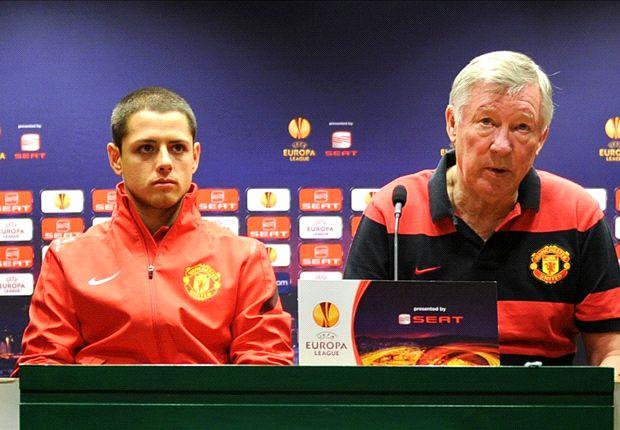 """Ferguson dice que """"no hay para pensar"""" que 'Chicharito' deba irse del Manchester United"""