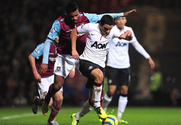 Laporan Pertandingan: West Ham United 2-2 Manchester United