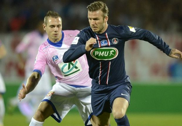 Beckham reveals PSG are looking to extend his stay