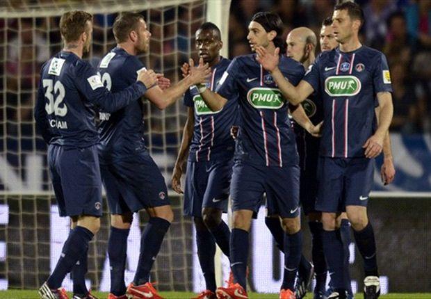 Evian Singkirkan PSG Lewat Adu Penalti