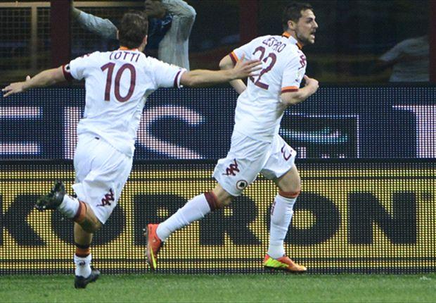 Mattia Destro Senang Pastikan Langkah AS Roma Ke Final