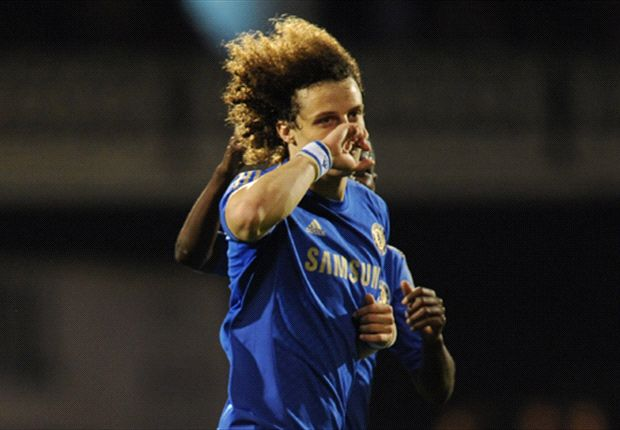 Box office Luiz celebrates Chelsea century in style