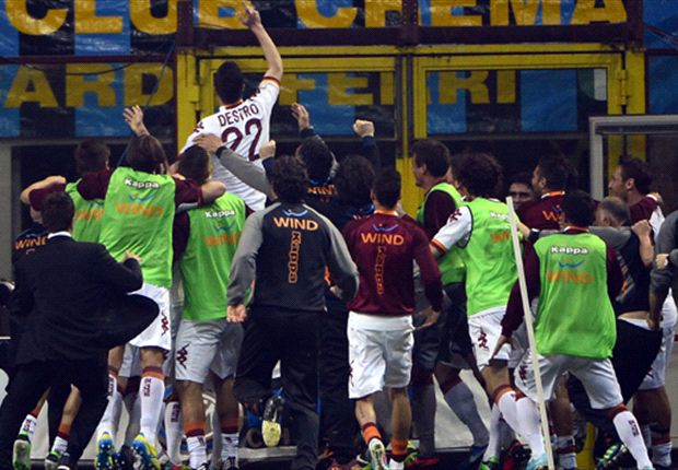 Laporan Pertandingan: FC Internazionale 2-3 AS Roma