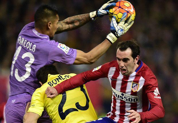 Atletico Madrid 0-0 Villarreal: Simeone's men miss chance to close gap