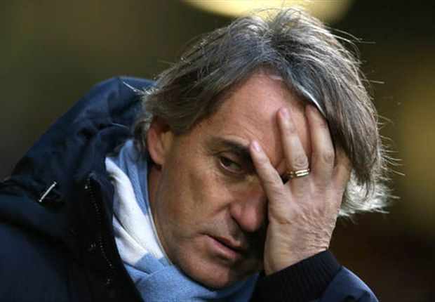 Outgoing Mancini lashes out at Manchester City hierarchy