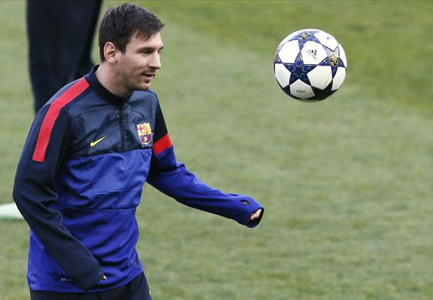 Messi in Barcelona squad for Bayern Munich