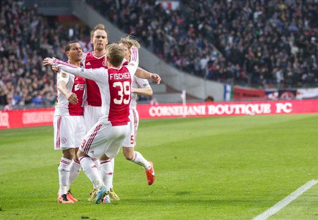 Sterke slotfase Ajax nekt dapper PEC Zwolle