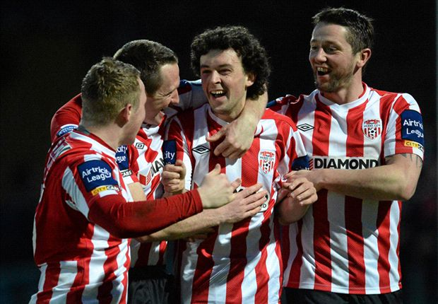 Drogheda United 2-3 Derry City - Patterson helps Candystripes record nervy win