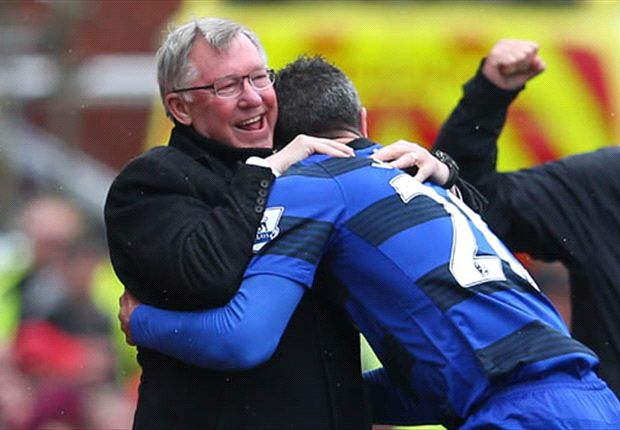 Fergie made my Premier League title dream come true - Van Persie