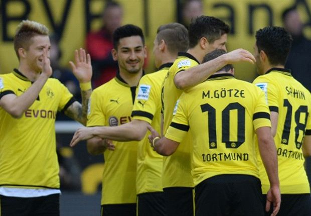 Borussia Dortmund 2-0 Mainz: Goals from Reus and Lewandowski enough for victory