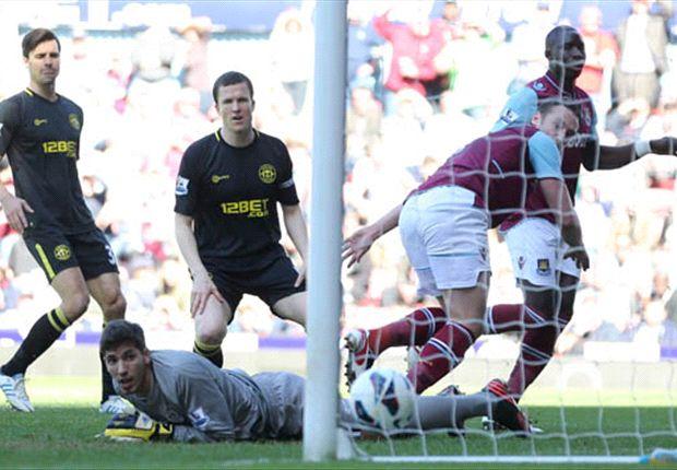 West Ham 2-0 Wigan: Survival experts in danger after dour defeat