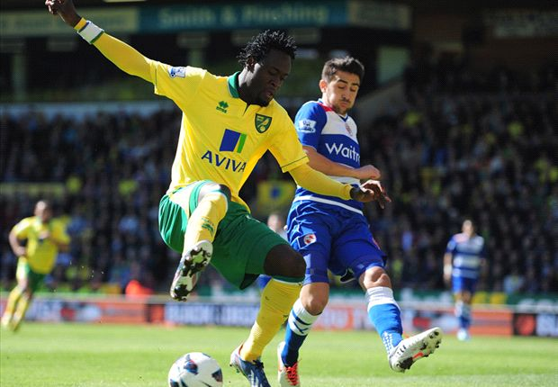 Norwich 2-1 Reading: Canaries ease relegation fears at expense of doomed Royals
