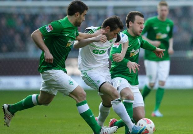 VfL Wolfsburg Permalukan Werder Bremen
