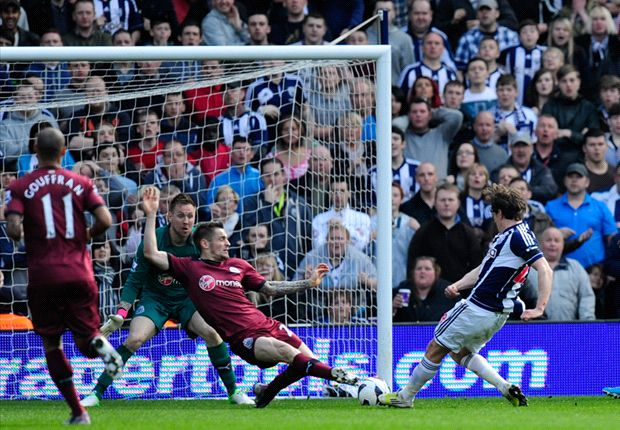 Jones finally finds his feet at West Brom after first goal