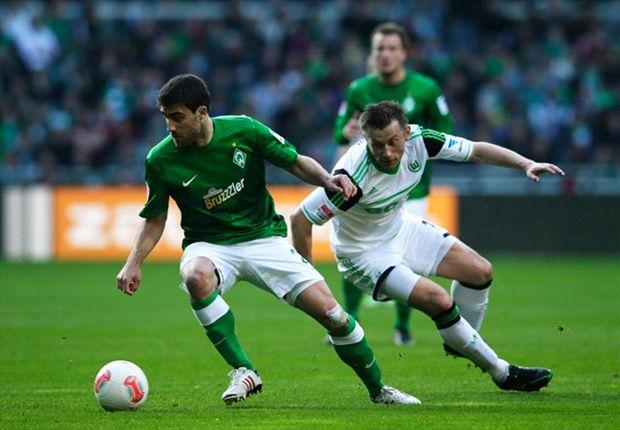 Belangrijke zege Wolfsburg in Bremen