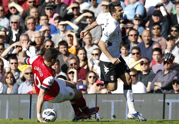 Arsenal appeal Giroud red card against Fulham