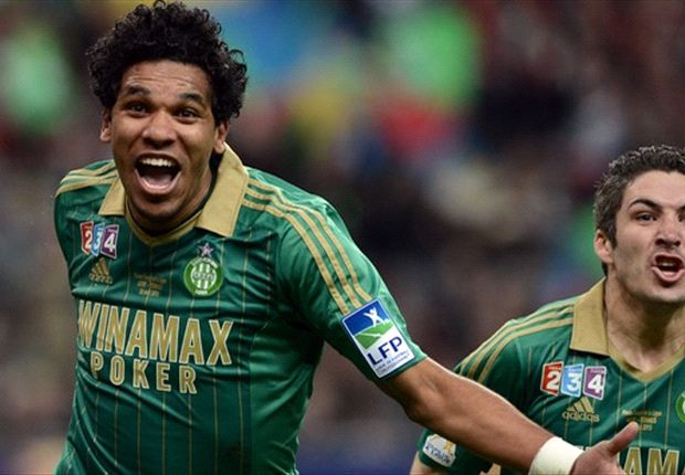 Saint-Etienne 1-0 Rennes: Brandao secures Coupe de la Ligue glory for les Verts
