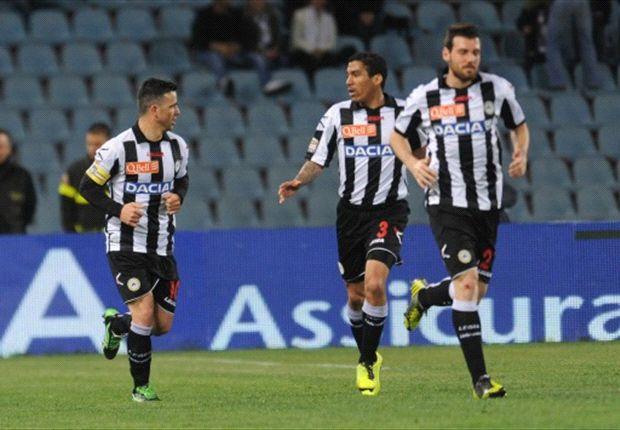 Italien Roundup: Udinese bezwingt Miro Kloses Lazio - Atalanta mit Remis in Genua