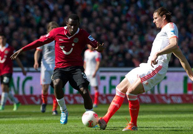 Mame Diouf, hier gegen den FC Bayern, ist in England heißbegehrt