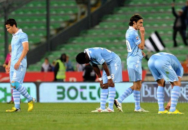 Udinese hunde más a la Lazio