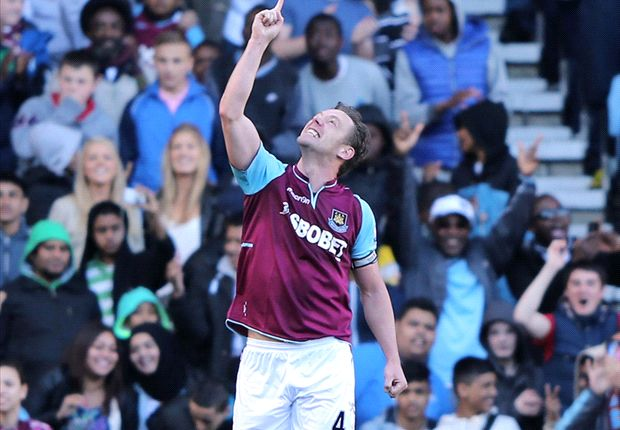 West Ham captain Nolan thrilled to reach 100 career goals