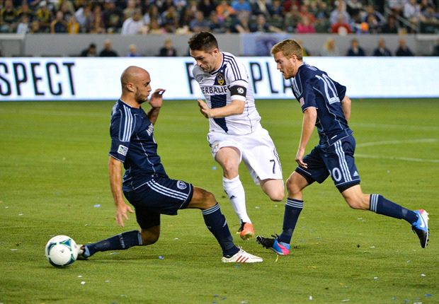 LA Galaxy 2-0 Sporting Kansas City: Landon Donovan scores and assists in home win