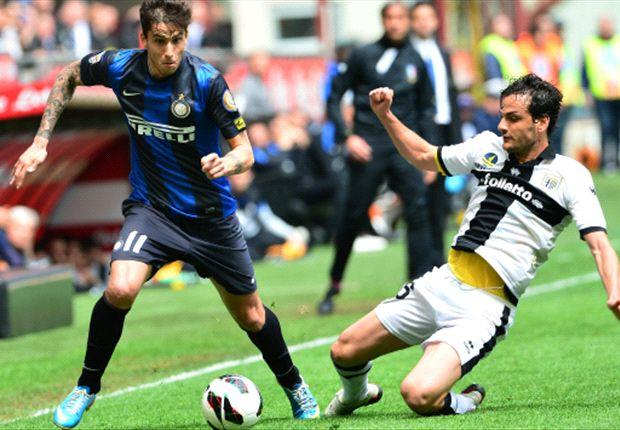 Inter se aprovechó del Parma y recuperó la alegría