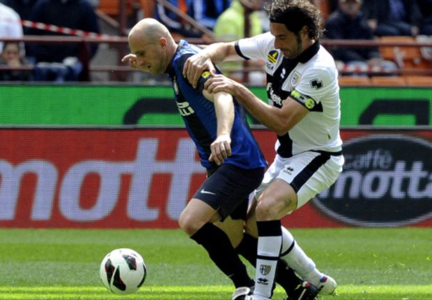 Inter 1-0 Parma: Rocchi relieves pressure on Stramaccioni's strugglers