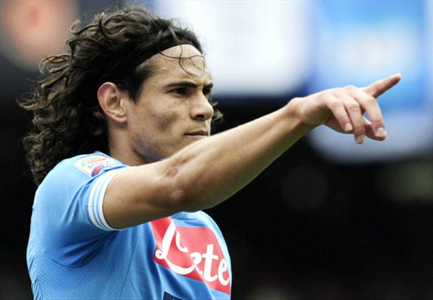 Napoli 3-1 Inter: Cavani treble guarantees top-three finish for Partenopei
