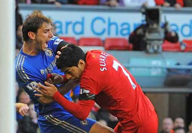 Suarez charged by Football Association over Ivanovic bite