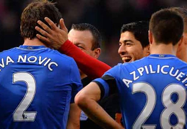 Ivanovic not happy at all after Suarez bite, says Cech
