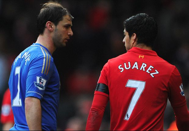 Ivanovic will not press charges against Suarez, Merseyside Police confirm