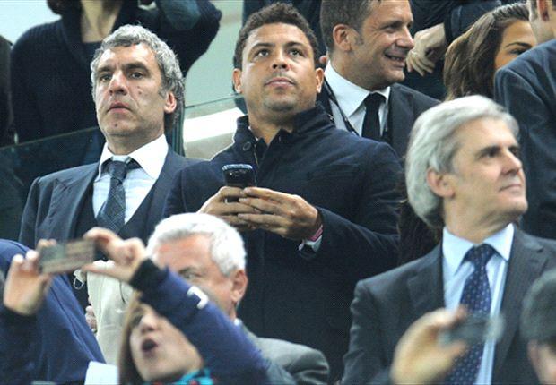 """Ronaldo rinfaccia a Moratti di aver preferito Cuper a lui, il presidente dell'Inter non se la tiene: """"Fu lui che volle andare al Real"""""""