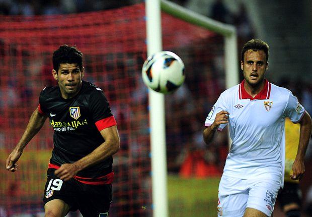 Diego Costa sí jugará el derbi ante el Real Madrid