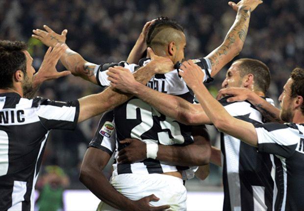 Juventus derrotó al Milan gracias a Vidal