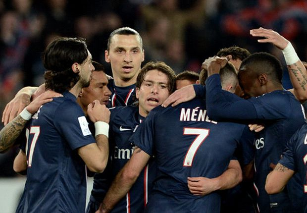 Paris Saint-Germain 3-0 Nice: Menez, Ibrahimovic & Chantome strike in PSG rout