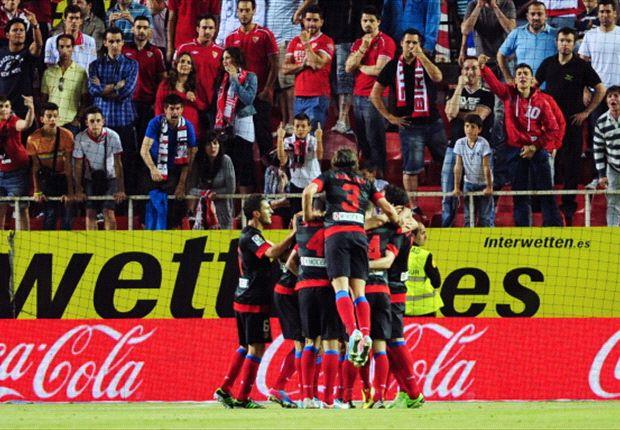 Atlético Madrid se llevó mucho premio de Sevilla
