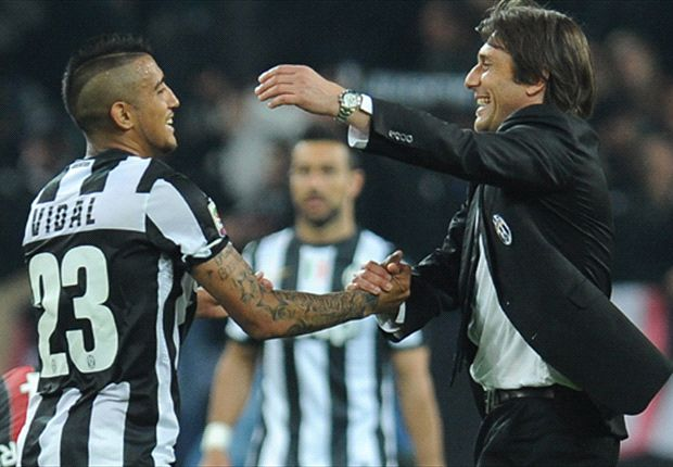 Torino 0-2 Juventus: Vidal & Marchisio put Conte's men on brink of Scudetto