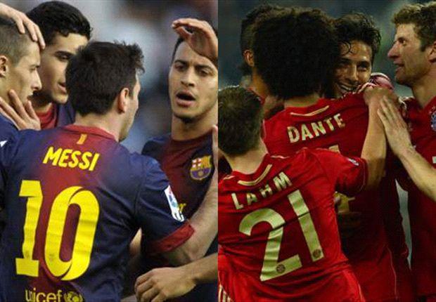 Apuestas: Bayern vs. Barcelona, arranca el camino hacia Wembley