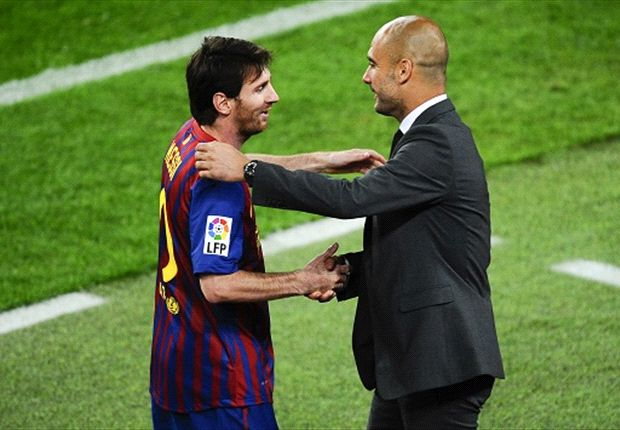 Messi: I've not spoken to Guardiola since he left