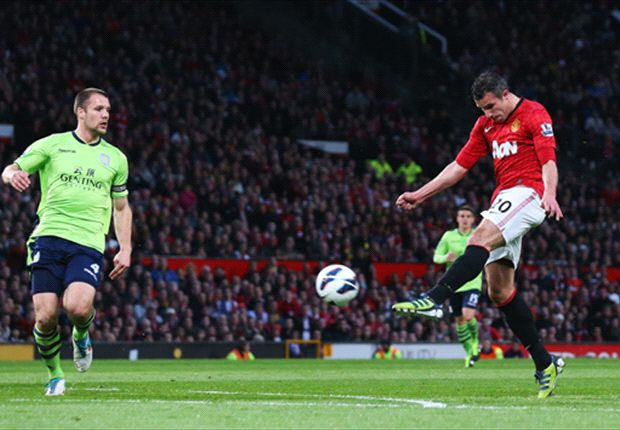 Sir Alex Ferguson hails Van Persie's 'goal of the century' against Aston Villa