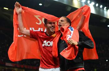 Ferdinand and Carrick praise next Manchester United manager David Moyes